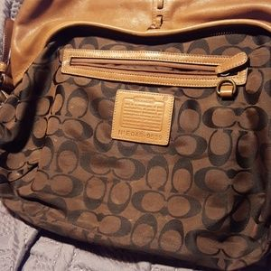 Small coach satchel